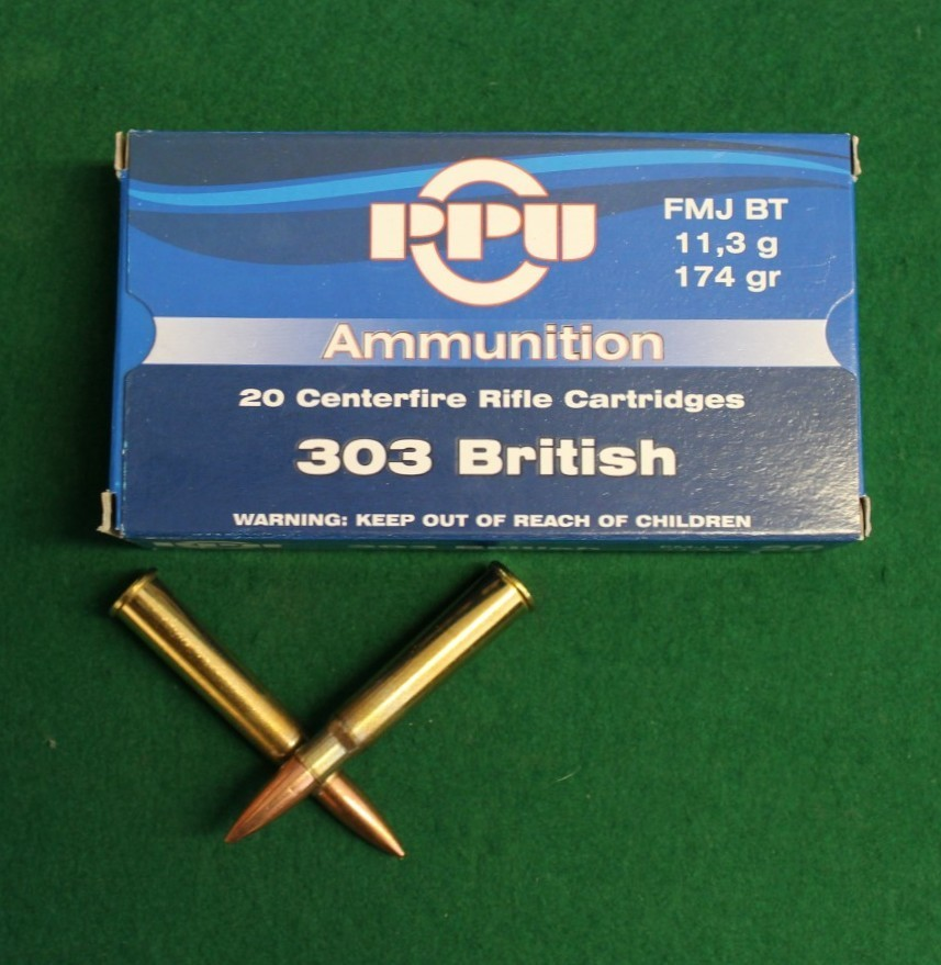 PPU  303 British // 174 grs (KLICKEN FÜR MEHR INFO)